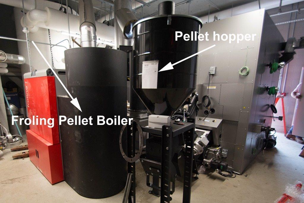 Fröling TM 500 Chip Boiler