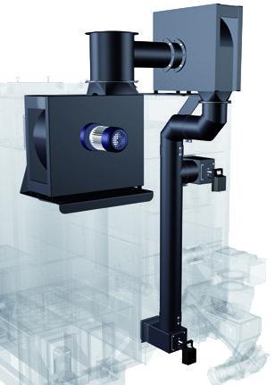Fröling TM Gas recirculation
