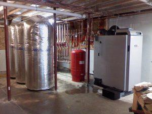 Wood boiler Thermal Storage