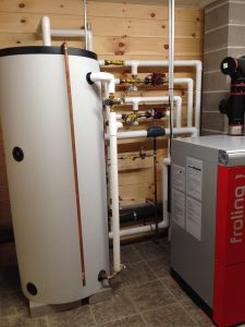 Pellet Boiler thermal Storage