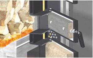 Fröling S3 Turbo Wood Gasification Boiler easy Start Door