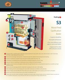 s3 turbo wood boiler brochure cover