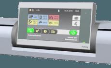 p4 pellet boiler touch screen