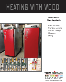 wood boiler planning guide