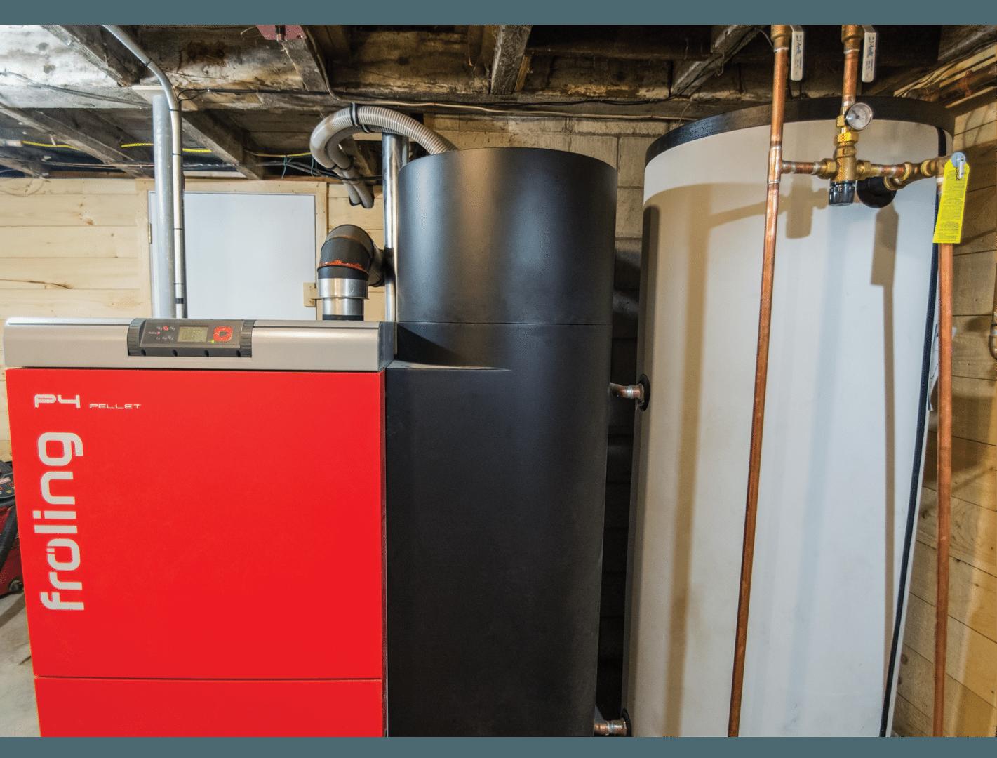 Fröling Energy Tank installed