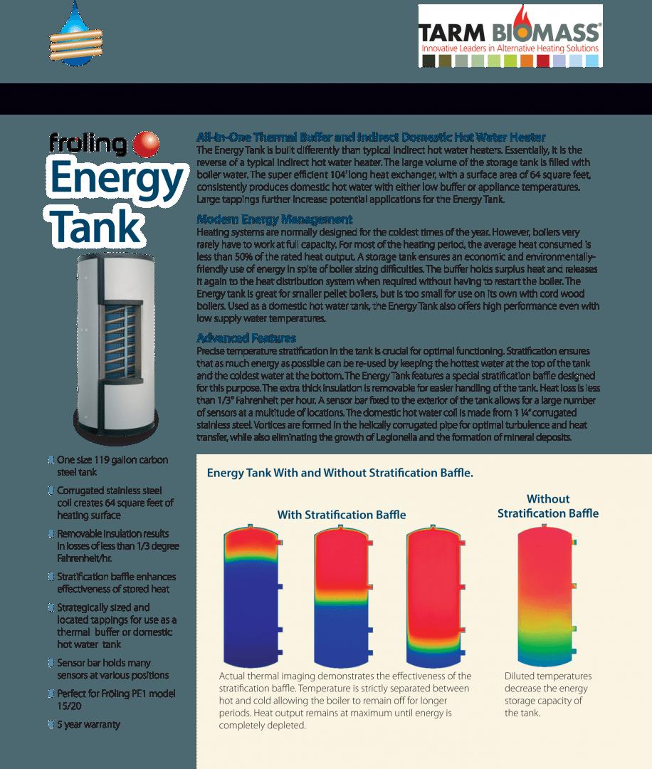 Fröling Energy Tank Brochure