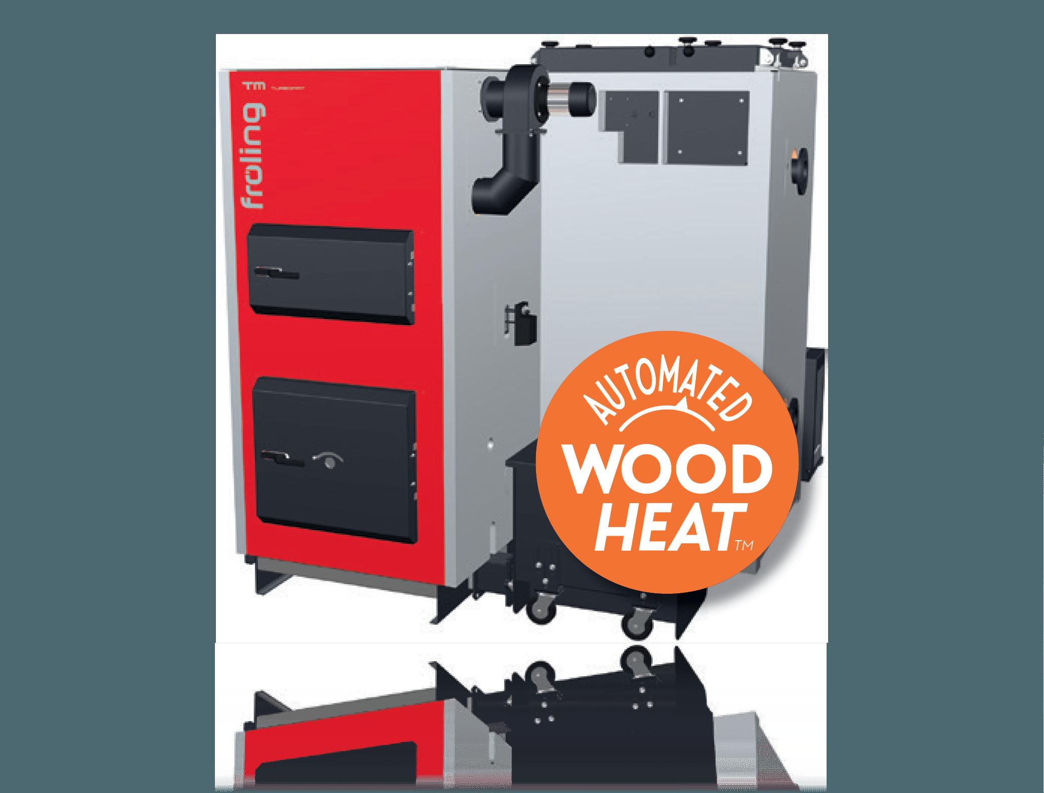 wood chip boiler Fröling TM 500