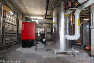 Pellet Boiler Thermal Storage