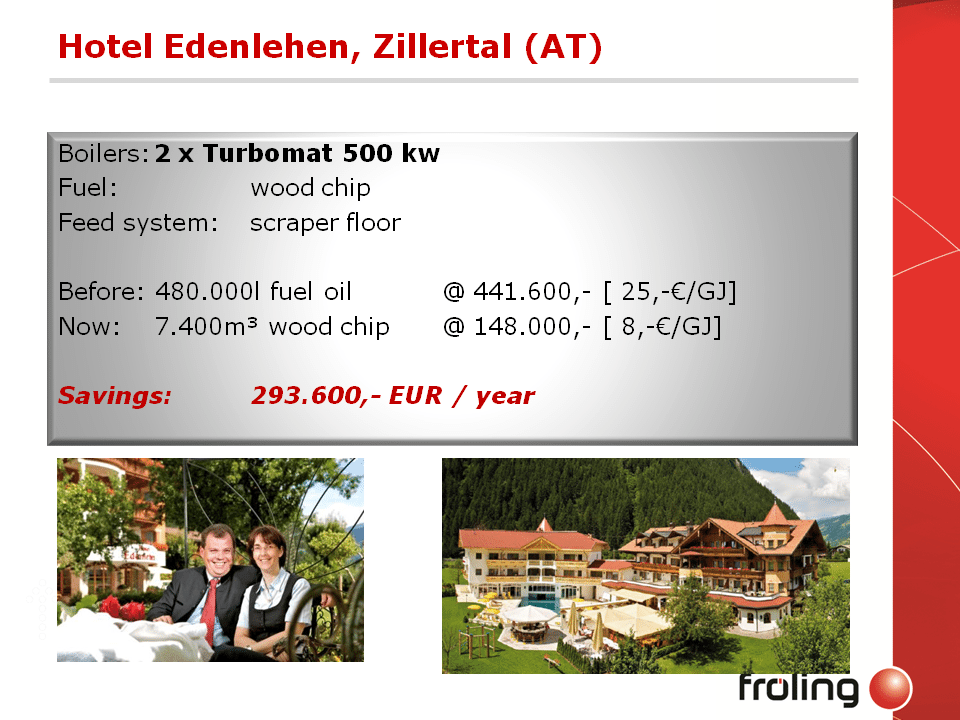 Fröling TM Project Summary