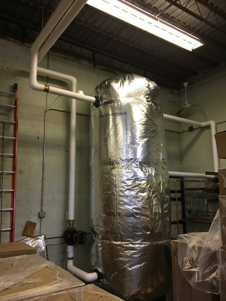 Insulated Buffer Tank