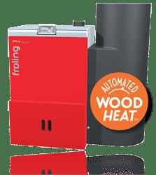 p4 wood pellet boiler