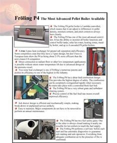 Fröling P4 Pellet Boiler Advantages