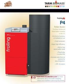 P4 Wood Pellet Boiler Brochure