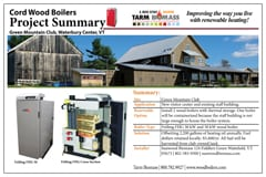 wood boiler project summary 2