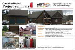 wood boiler project summary