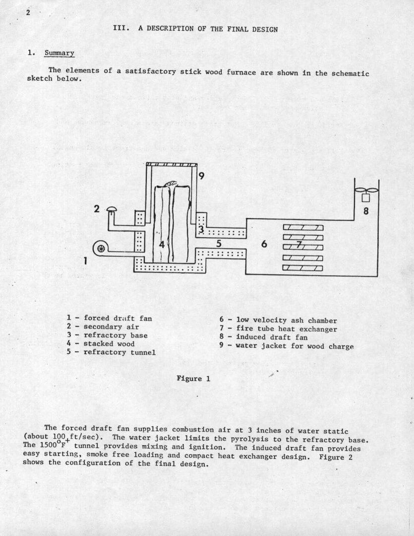 Professor Hill's Wood Boiler