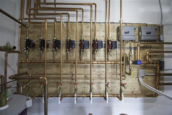 wood Pellet Boiler Header