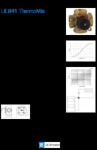 LK Armature LK 841 Mixing Valve Brochure