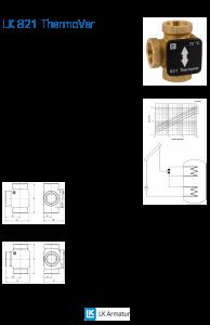 LK Armatur LK 821 Diverter Valve