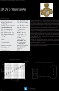 LK Armature LK 823 Mixing Valve Brochure