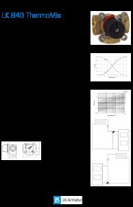 LK Armature LK 840 Mixing Valve Brochure