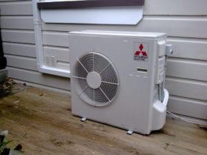 cold climate heat pump