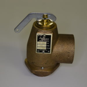 commerciall wood boiler relief valve