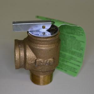 wood boiler relief valve
