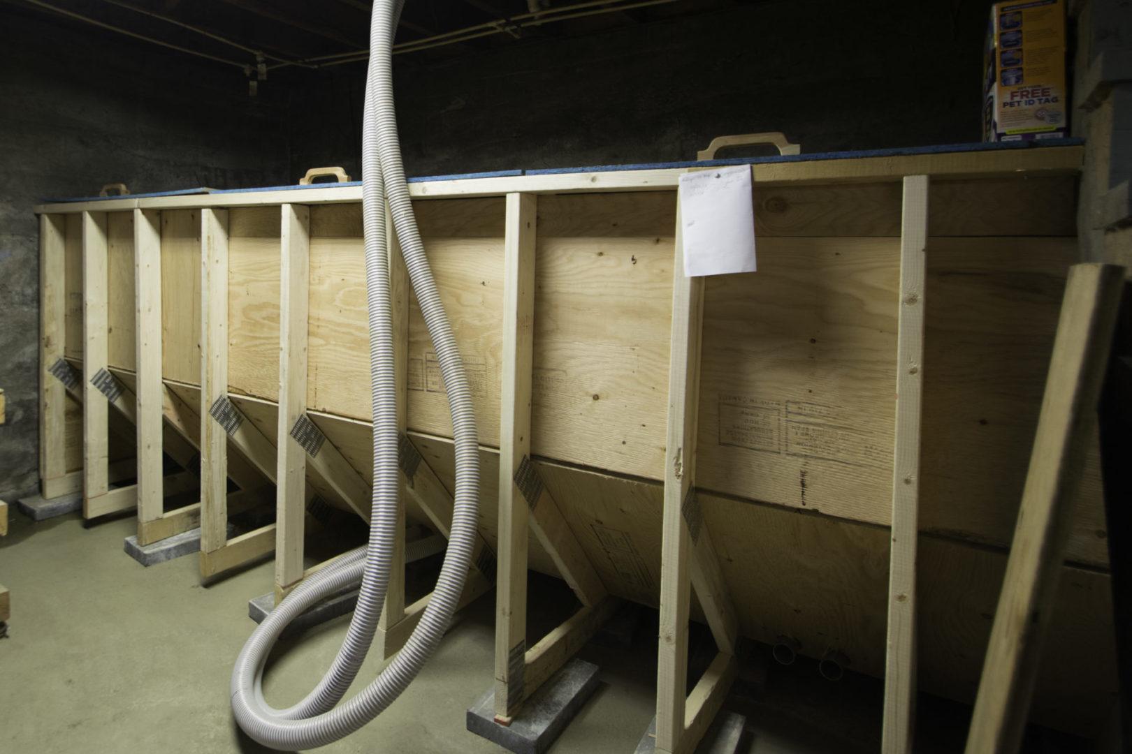 Fröling PE1 storage bin